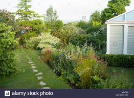prospect house devon uk peter wadeley stepping stone path through