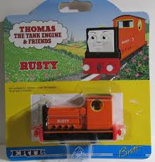 rusty train thomas the tank engine u0026 friends rusty shining time station die