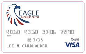 Business Prepaid Debit Card Eagle Business Credit Launches Visa Prepaid Card Eagle Business