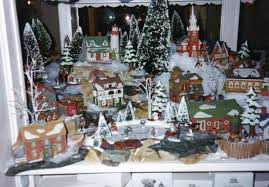 christmas village houses display ideas u2013 happy holidays