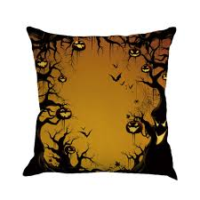 happy halloween cover photo happy halloween pillow cases linen sofa cushion cover home decor