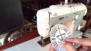 pfaff 360 restored free arm convertible sewing machine youtube