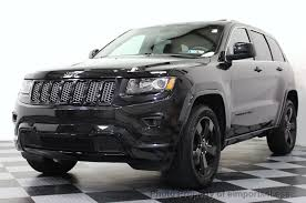 jeep cherokee black 2015 2015 used jeep grand cherokee certified grand cherokee v6 4wd