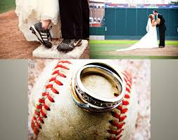 baseball themed wedding wedding photos from this baseball themed wedding