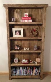 Simple Wooden Bookshelf Plans by Best 25 Wooden Bookcase Ideas On Pinterest Cube Wall Shelf