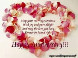 Wedding Wishes Sms 14 Best Happy Wedding Anniversary Wishes For Husband For Wife