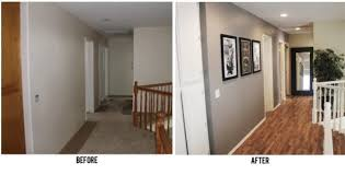 home design before and after restoration of a hallway before after home design garden