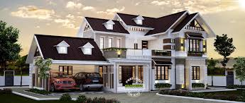 bts beautiful double storey house designs 2017