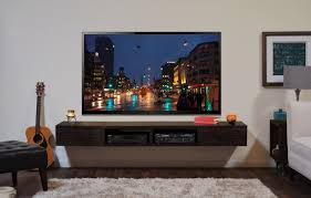 wall mounted tv stand entertainment console mayan espresso