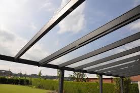 Glass Pergola Roof by Glass Veranda Garden Canopy 3m Deep