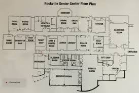 locker room floor plan rockville senior center facility rooms