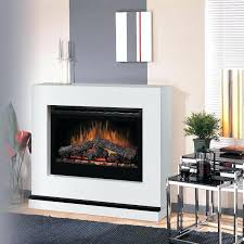 Electric Fireplace With Mantel White Electric Fireplace Tv Console Mantel Package Real Flame