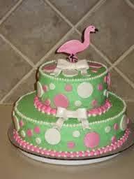 modele tort tort flamingo