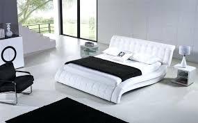 white contemporary bed u2013 vansaro me