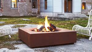Steel Firepit Modern Pits Outdoor Decoration Allthingschula Modern