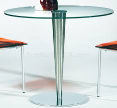 top u0026 stainless steel base modern dining table w options