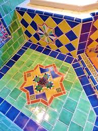 Mexican Tile Bathroom Designs 36 Best Mexican Tiles Images On Pinterest Mexican Tiles