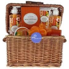 spa basket ideas bath gift basket bosli club