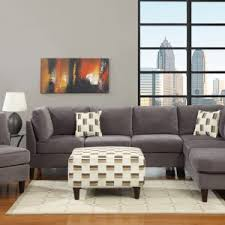 white microfiber sectional sofa interior complete your living room design with microfiber