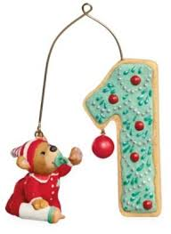 my 2009 hallmark ornament baby