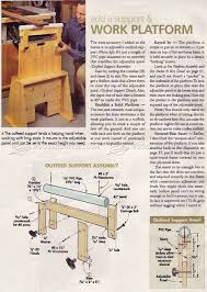 989 super sawhorses plans workshop solutions plans tips and
