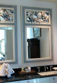 Seashell Bathroom Ideas Seashell Bath Decor Best Bathroom Ideas On Mirrors By My Shop Sets
