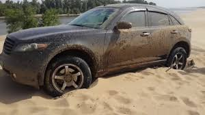 infiniti fx50 2016 infiniti fx50 hard stuck off road 4x4 deep sand youtube