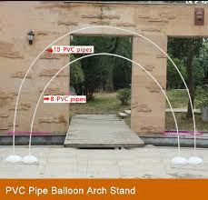 wedding arches and columns wholesale make a balloon arch stand with pvc pipe cords pvc pipe balloon