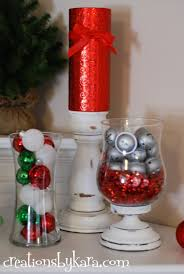 Tall Christmas Mantel Decorations by Red And Green Christmas Mantel