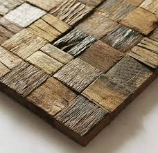 3d wood wood mosaic tile rustic wood wall tiles nwmt002 kitchen
