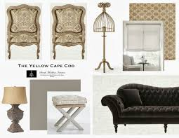 the yellow cape cod before after living room makeover a design