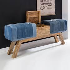 Esszimmerbank Holz Rustikale Vintage Sitzbank Mit Truhe Oliver Wohnen De