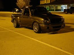 Yellow Ford Ranger Truck - new wheels tires on my truck night shots ranger forums the