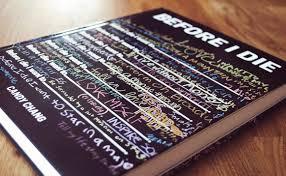 before i die book
