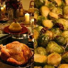 thanksgiving 2014 my family dinner setup we eat pray holidays