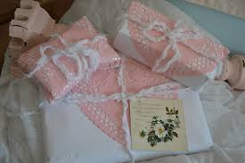 shabby chic wrapping paper shabby chic wrapping search pretty wrapped parcels