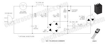 110v 230v light dimmer circuit without snap on
