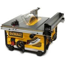 dewalt jobsite table saw accessories dewalt dw745 10 inch compact job site table saw with 20 inch max rip