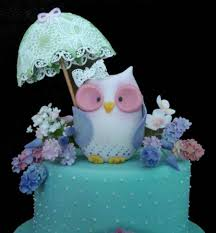 owl cake toppers sugar flowers sugarveil owl cake topper cakecentral