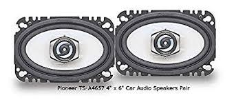 pioneer 4x6 pioneer tsa4657 4 x 6 2 way speaker home audio