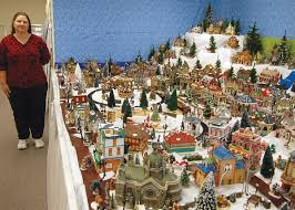 christmas villages breaking news sports troy elsberry winfield moscow mills