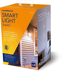 chamberlain wslcev remote light switch chamberlain group wslcev p1 switch control home lighting with myq