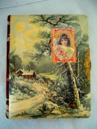 Antique Photo Album Celluloid Photo Album Antique Victorian Celluloid Box