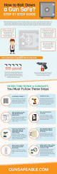 Biometric Gun Safe Wall Mount How To Bolt Down A Gun Safe Step By Step Guide Infographic