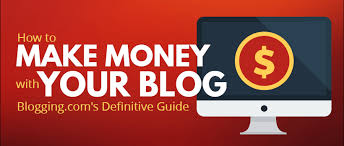 Make Money Online Blogs - how to make money online with your blog