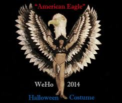 eagle halloween costume weho 2014 eagle u0027s costume youtube