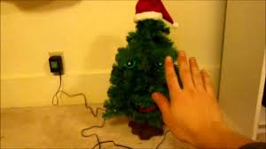 gemmy douglas fir the talking christmas tree edition 1 youtube