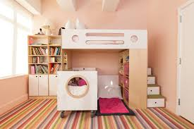 Crib Loft Bed Cozy Loft Bed With Crib Underneath Comfortable Loft Bed With