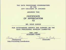 It Knowledge Resume Doug Kaniuk Resume