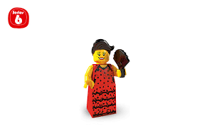 flamenco dancer characters minifigures lego com